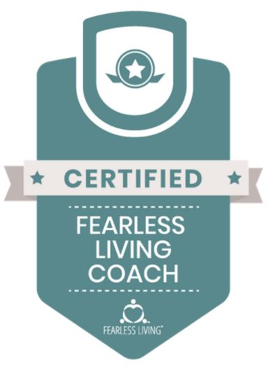 Badge for Certified Fearless Living Coach